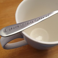 Custom Years Still Spooning, Anniversary GIft