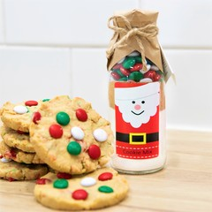 SANTA's Friends Cookie Mix. An adorable Christmas gift | treat | activity.