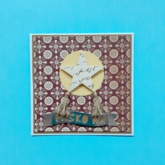 Parol Handmade Card / Lasercut Card / Paper Art