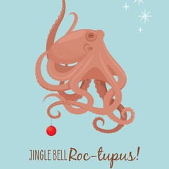 Christmas Card - Octopus