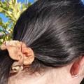 Silk Scrunchie - Botanically Dyed Scrunchie - Upcycled Fashion