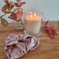 Handmade Scrunchies - Blush Velvet