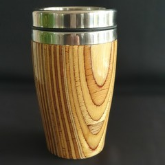 Wooden travel mug, Wooden coffee mug, Keep cup,, Australian timber