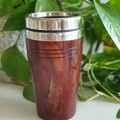 Wooden travel mug, Wooden coffee mug,  Australian Jarrah, Xmas gift,