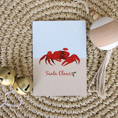 Christmas Card - Christmas Island Red Crab