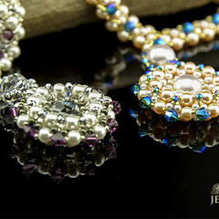 Swarovski Necklace/handmade Beaded Necklace/Swarovski pendant necklace