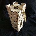 Wooden Bottle gift box