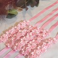 Hair Accessories Flower Ribbon Medium