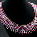 Handmade Jewellery Necklace/Swarovski women necklace/Beaded necklace/ID 9