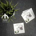 Customisable Ceramic coaster - Wombat - Australian Animals