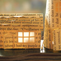Lighthouse - Book art - Book sculpture - Altered books