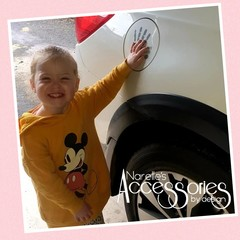 Helping Hand Car Decal