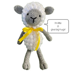 Tiny the Lamby - from the Red George cuddle crew