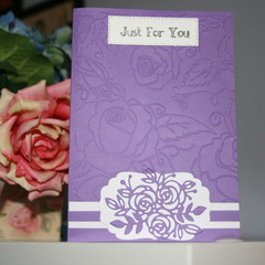 FEMALE BIRTHDAY CARD   ( Postage Inc;luded)