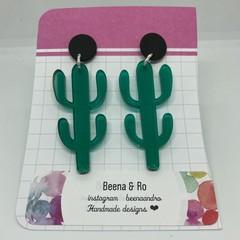 Cute cactus earrings