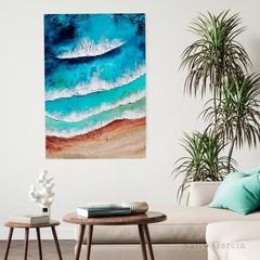 Acrylic  Ocean  Painting Artwork