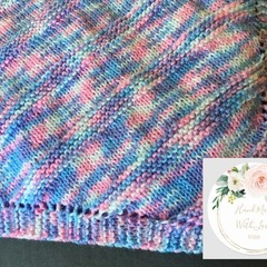 Baby Blanket - Square - Knitted