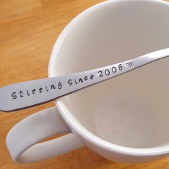 Add Your Custom Year, Stirring Since, Anniversary Gift