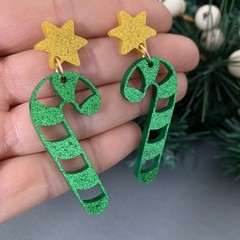 Christmas Candy Cane Dangle (Multiple Colours)
