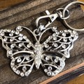 Butterfly Keyring.