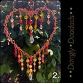 Spring Fling Heart Suncatchers (5x available)