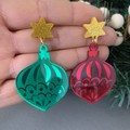 Christmas Bauble Dangle (Multiple Colours)