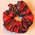 Red and Black Scrunchy