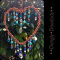 Spring Fling Heart Suncatchers (5x available)