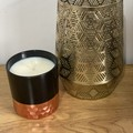 Large Vogue Candle In Lotus Flower