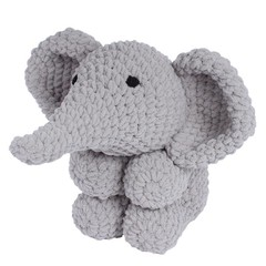Handmade Crafting Kit ~ Ollie Elephant by Knitty Critty