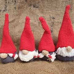 Crochet Christmas Gnomes