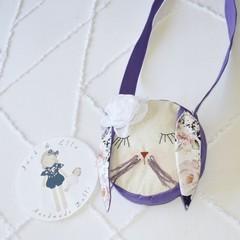 Purple bunny bag