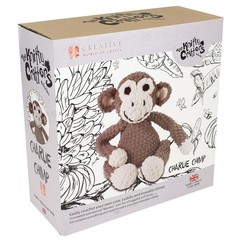Knitty Critty Croche Craft Kit - Charlie Chimp