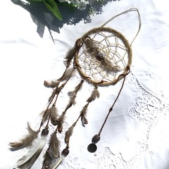 Dream catcher brown and white