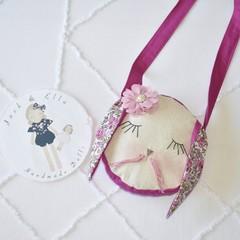 Pink  bunny bag