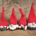 Crochet Christmas Gnomes