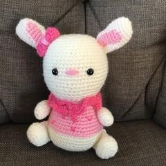 Sweet Crocheted Rabbit