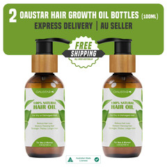 Natural Organic Hair Growth Oil Treatment For All Kind Of Hairs.