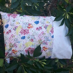 MAY GIBBS BLOSSOM BABIES  PILLOWCASE/INNER FLAP/FITS TODDLER PILLOW/35CM X 50CM