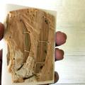 Small Handmade Paperbark and Cyanotype Artist Book
