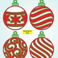 3D Mandala Christmas Baubles: From $4.90 per Bauble delivered.