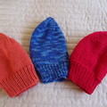 *Special * 3 beanies: (3-5yrs): Washable,  soft