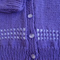 SIZE 4 yrs - Hand knitted cardigan
