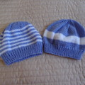 *Special * 2 beanies: (1-3yrs): Washable, girl, winter, soft