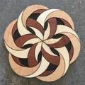 Coasters: #D Trivet. Set of 8