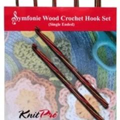 Symfonie Crochet Hook Set ~ Single Ended by Knit Pro.