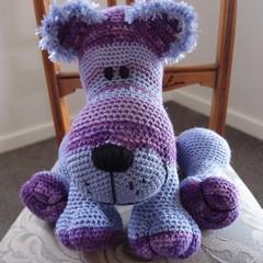 Cuddles: hand crocheted lion cub by CuddleCorner, Unisex