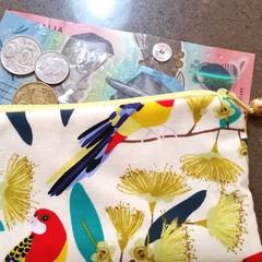 Lorikeet coin purse