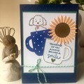 Thinking of You Always Brings a smile - friendship / Birthday / Anniversary Card