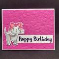 Birthday card / Kitty card / Friend Card / Cat Birthday Card